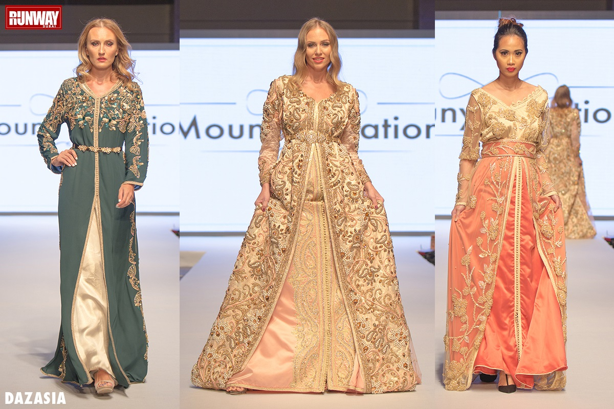 Mouny Creations by Mounia El Hsaini at RUNWAY DUBAI 2017