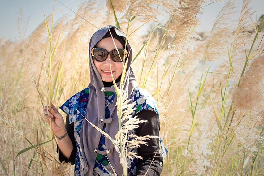 Eksotik Sad Indah di Dubai Modest Fashion Week 2017