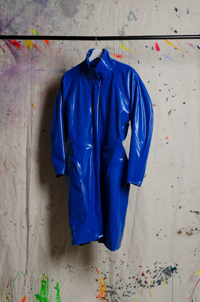 zaid farouki blue top design