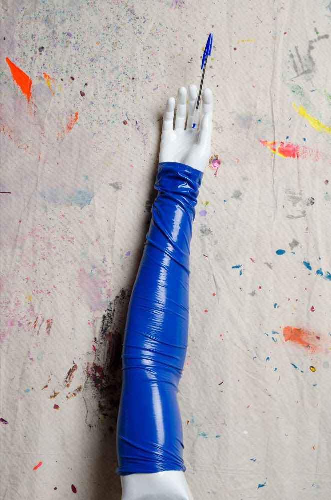 zaid farouki blue sleeve design
